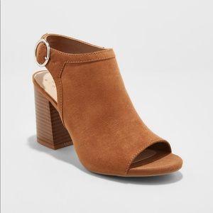New Open Toe Stacked heel